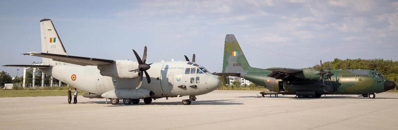aeronave ajutoare pentru Liban