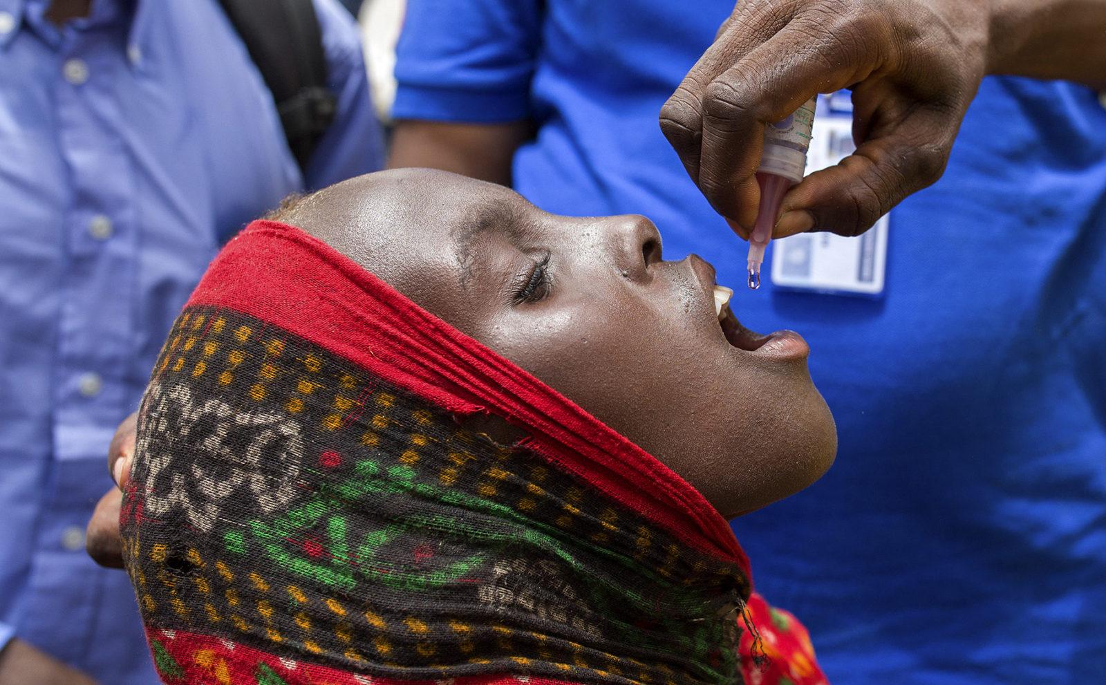 poliomelita eradica in africa