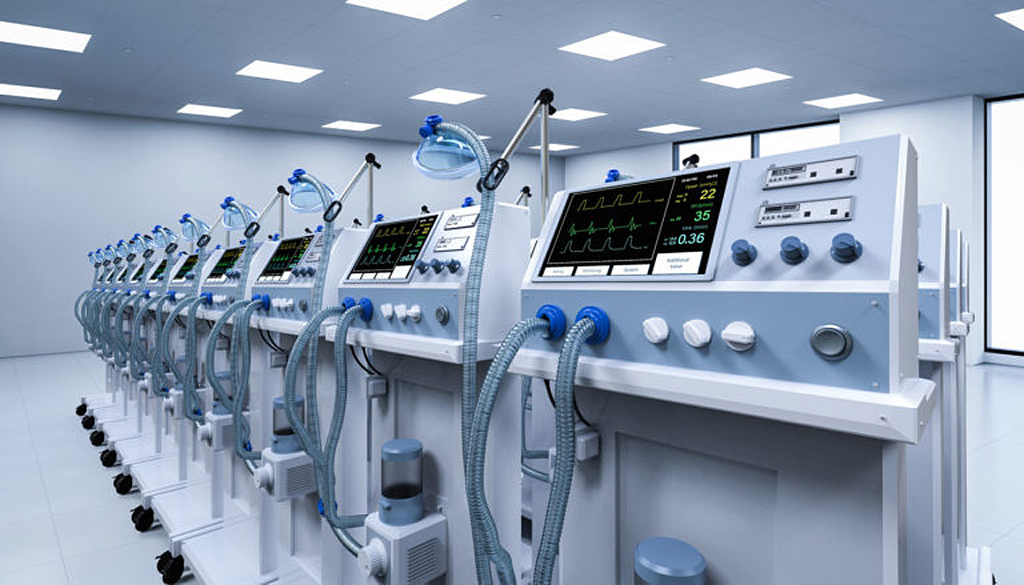 ventilatoare medicale